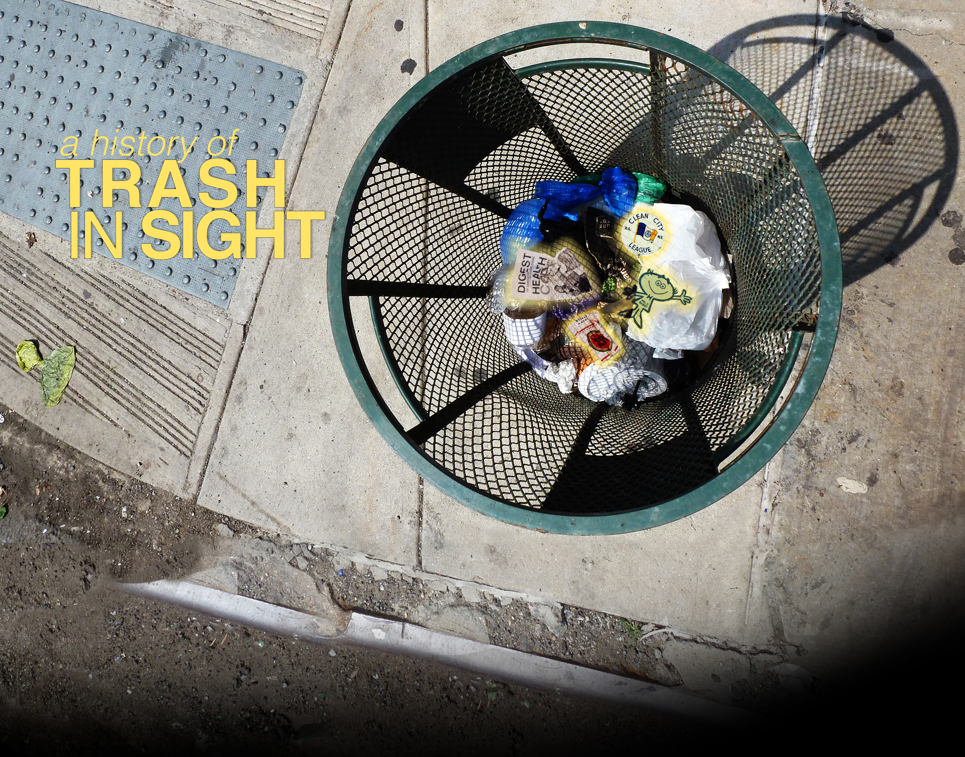 TRASH IN SIGHT